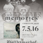 "CURSED BY THE FALLEN – CD-Release-Show zu ""Memories"""